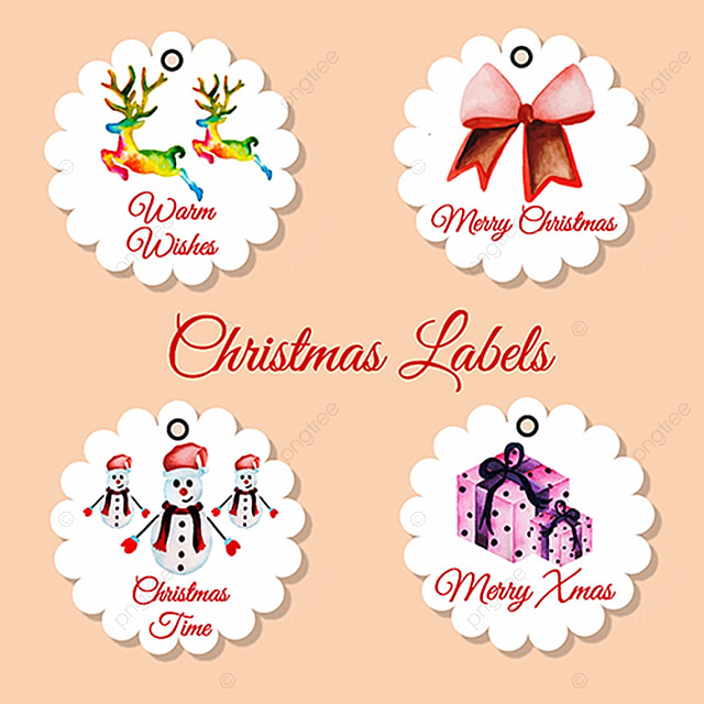 Christmas Tags Collection Template For Free Download On Pngtree
