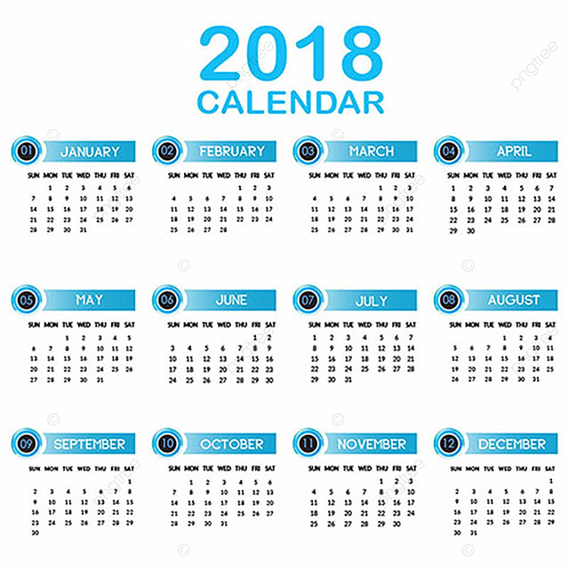 Annual Calendar  Template For Free Download On Pngtree