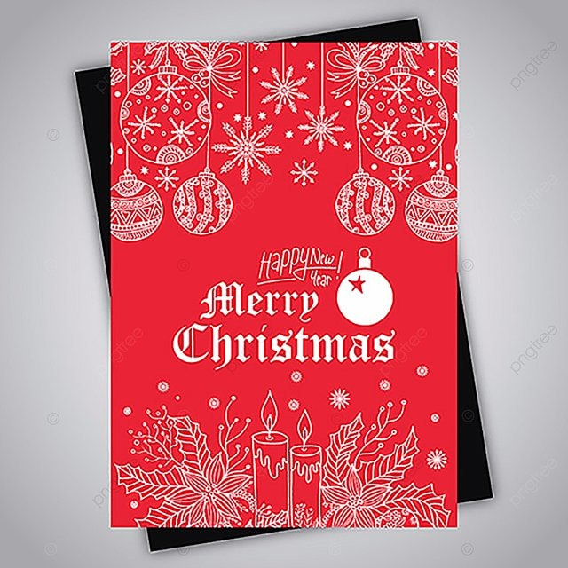 hand drawn colorful christmas brochure Template for Free Download on ...