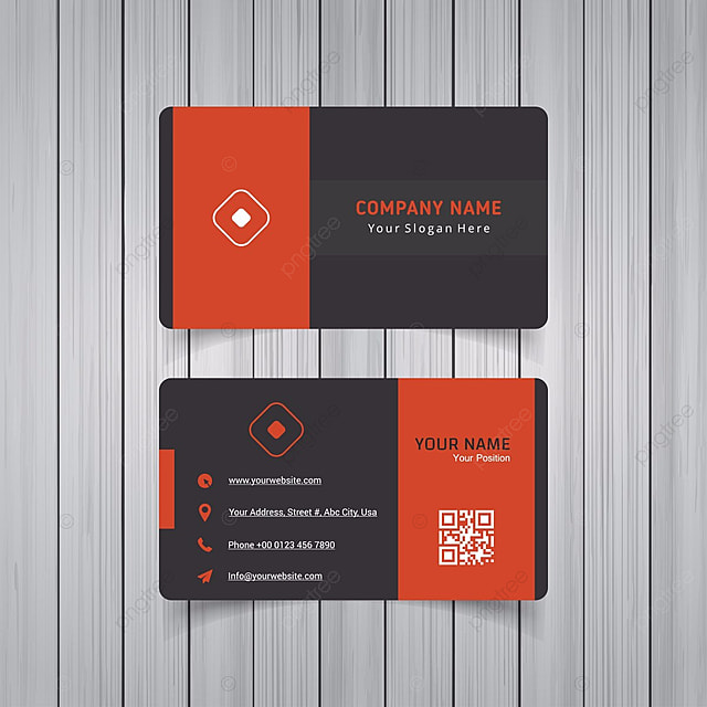Modern clean and creative business card vector template template for modern clean and creative business card vector template template reheart Images
