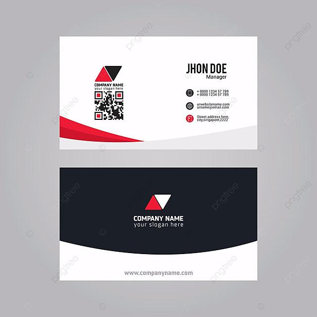 Moderno limpo e creative business card vector template modelo para moderno limpo e creative business card vector template modelo reheart Choice Image