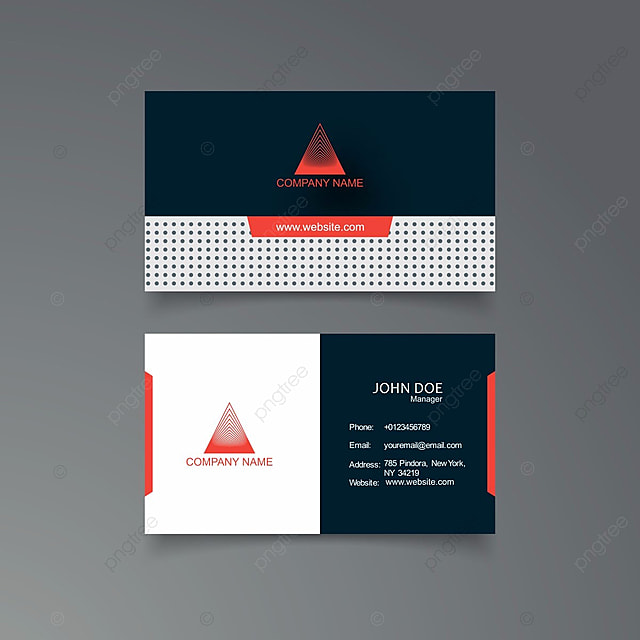 Modern clean and creative business card vector template template for modern clean and creative business card vector template template reheart