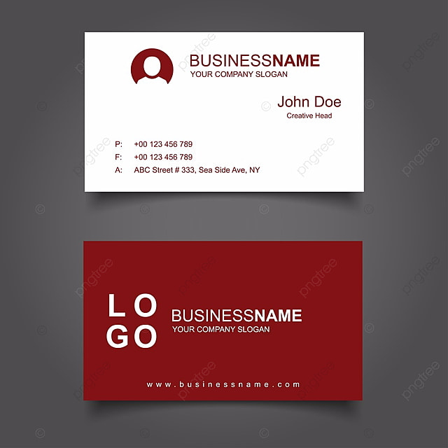 Modern clean and creative business card vector template template for modern clean and creative business card vector template template reheart Gallery