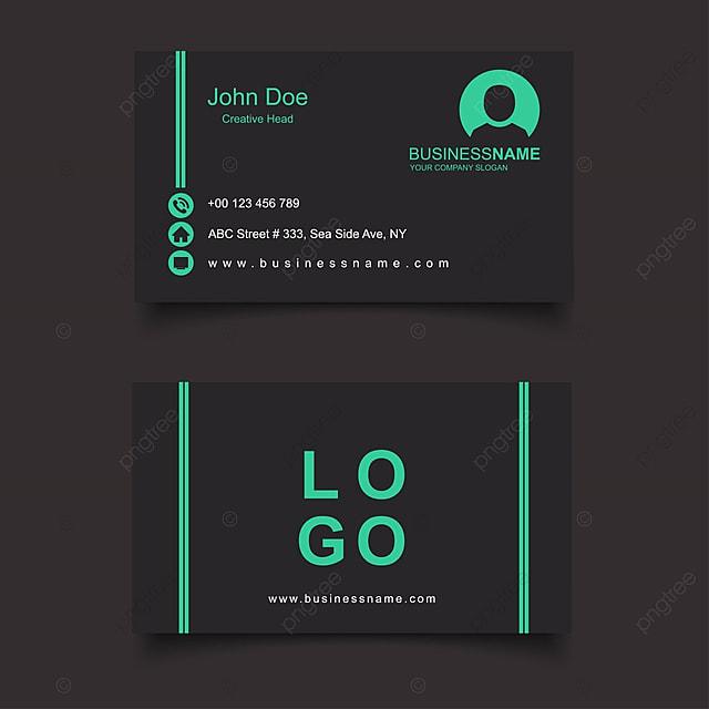 Moderno limpo e creative business card vector template modelo para moderno limpo e creative business card vector template modelo reheart Gallery