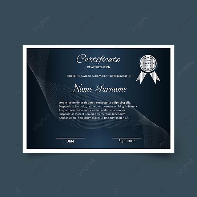 шаблон сертификата с роскошью и современной практики диплом  шаблон сертификата с роскошью и современной практики диплом вектор иллюстрация