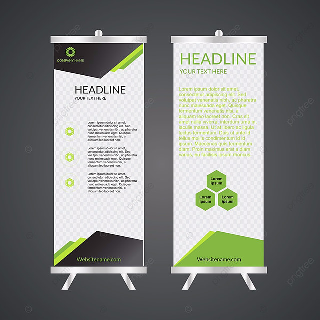 business roll up. standee design. banner template. presentation, Presentation templates