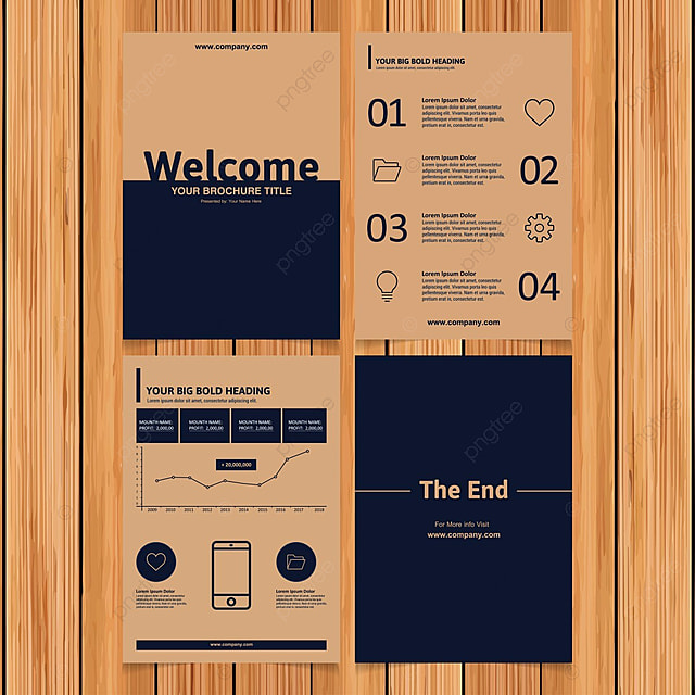 Brochure Template Png Vectors PSD And Icons For Free Download - Brochure layout template