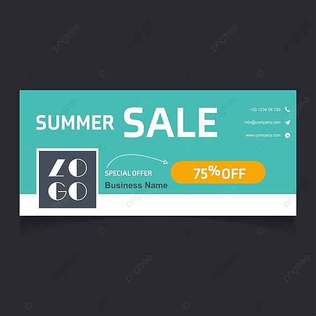 Creative Banner Template Sale Banner Facebook Cover Banner