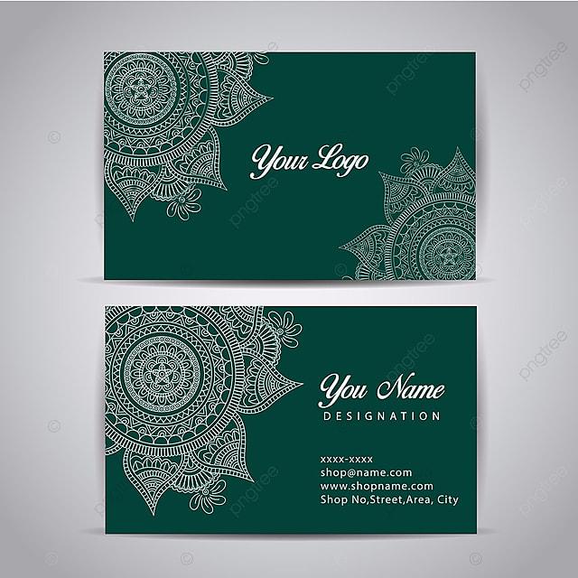 Mandala design visiting card template free download on pngtree mandala design visiting card reheart Images