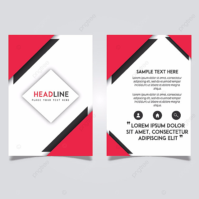 Vector Abstract Magazine Layout Template Designs Template ...