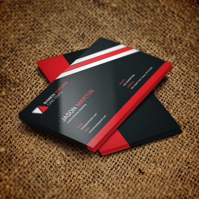 Business Card Psd Template Template Free Download On Pngtree - Business card psd template download