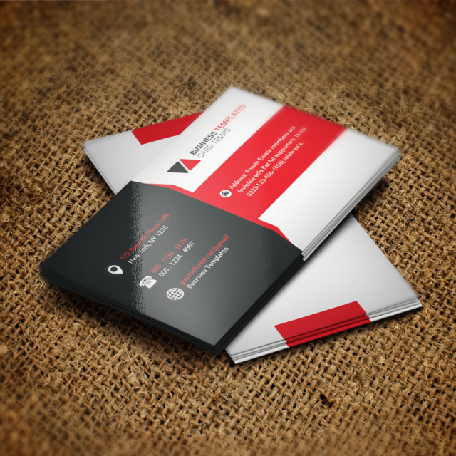 Corporate Business Card Psd Template Template For Free Download On