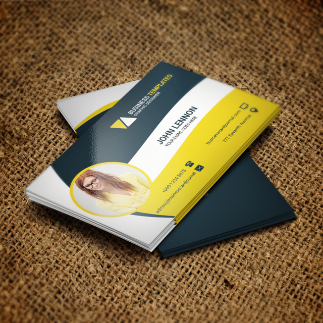 Corporate business card psd template template for free download on corporate business card psd template template accmission Images