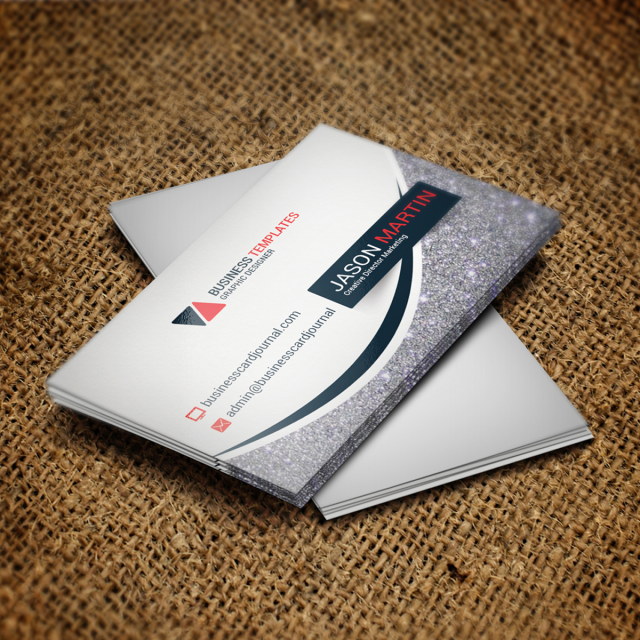 Corporate Business Card Psd Template Template Free Download On Pngtree - Business card psd template