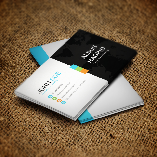 Blue business card psd template template for free download on pngtree blue business card psd template template accmission Images