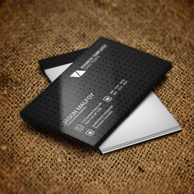 Black business card psd template for free download on pngtree black business card psd template reheart Choice Image