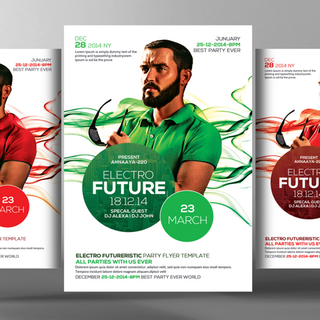 Futuristic Flyer Psd Template Template For Free Download On Pngtree