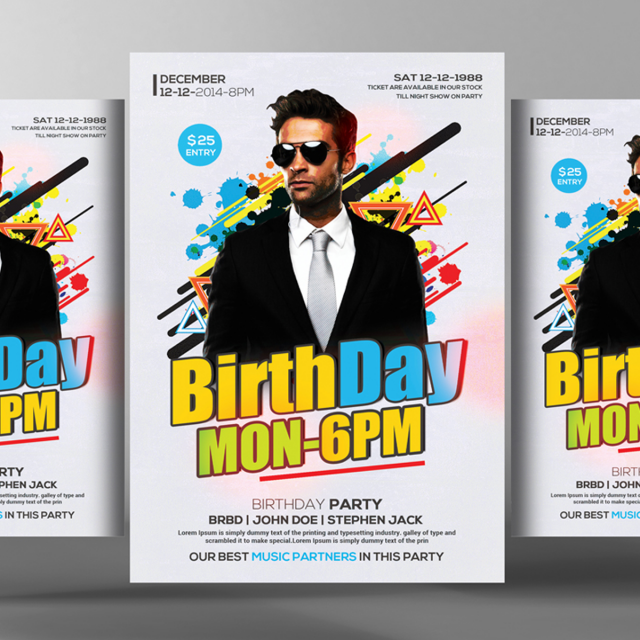 Birthday flyer poster templates template for free download on pngtree birthday flyer poster templates template saigontimesfo
