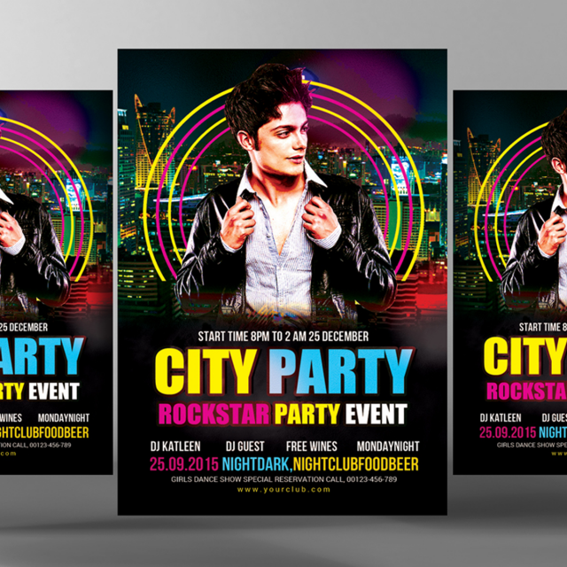 city party poster template template for free download on pngtree