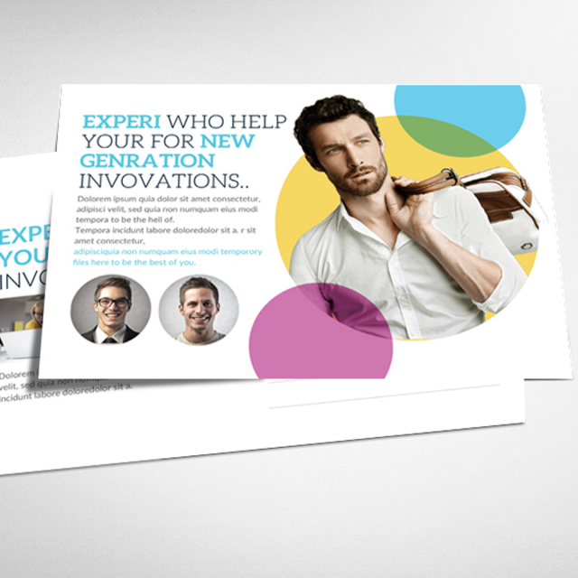Best business postcard psd template template for free download on best business postcard psd template template wajeb Gallery