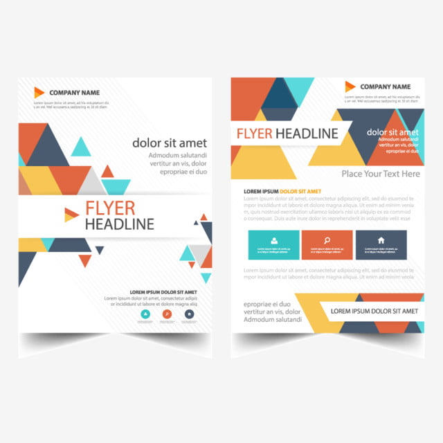 Abstract Brochure Report Flyer Template For Free Download On Pngtree
