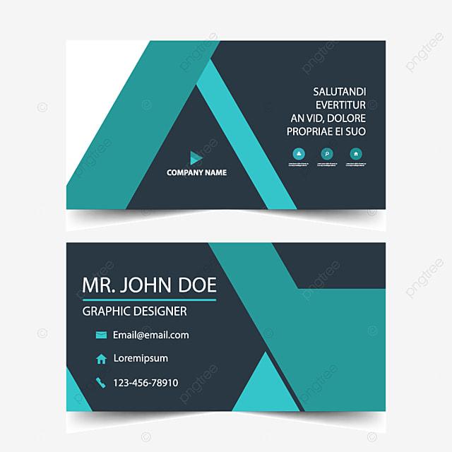 Blue Corporate Business Card Visitenkarte Vorlage Vorlage