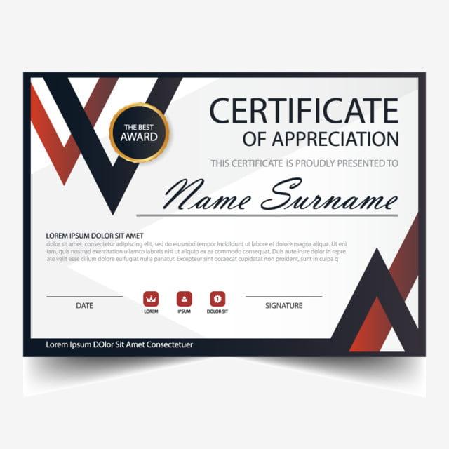 eleganz horizontale zertifikat mit vector illustration mit weißem ...