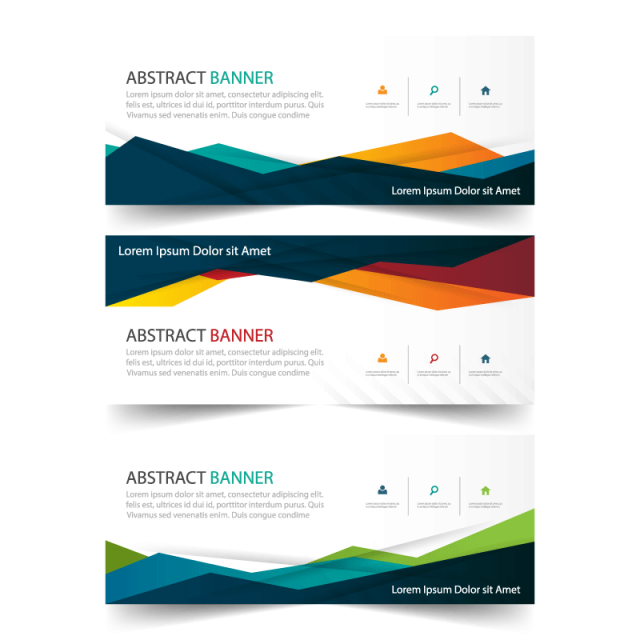 Free other templates on pngtree colorful business banner template horizontal advertising business banner layout template flat design set clean pronofoot35fo Choice Image