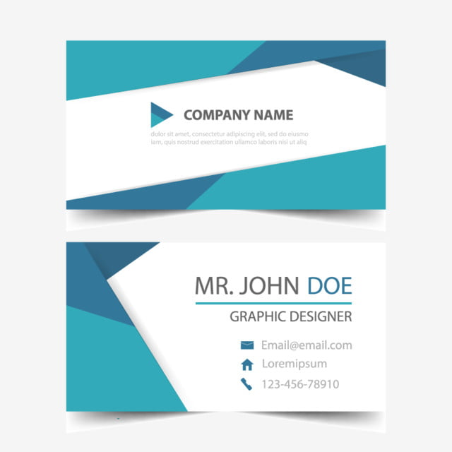 Blue corporate business card header template template for free blue corporate business card header template template flashek Gallery