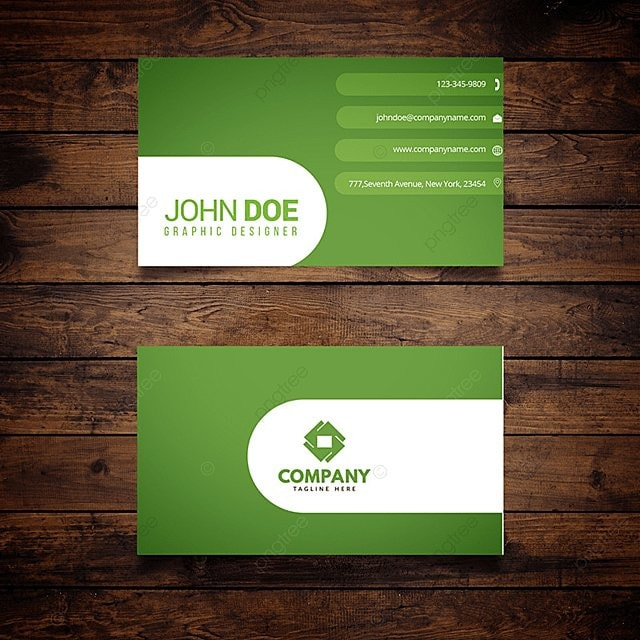 Green business card template for free download on pngtree green business card template wajeb Gallery