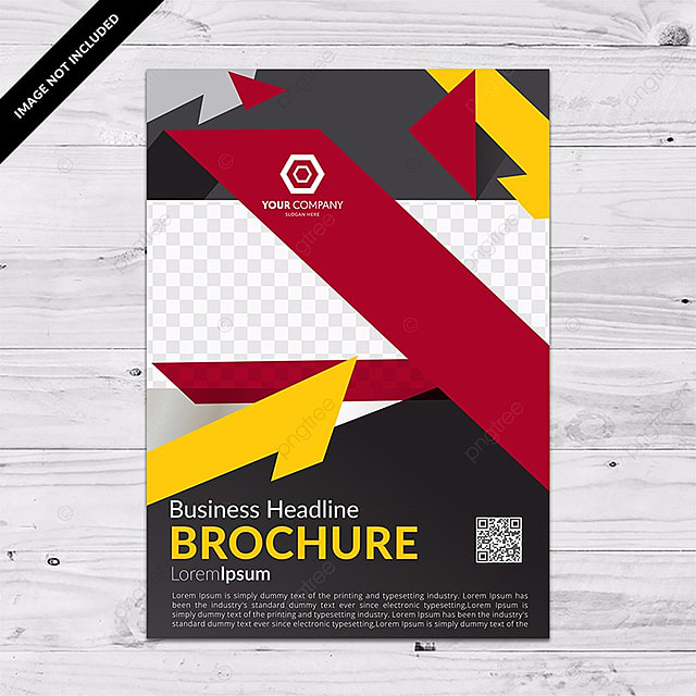 Yellow And Red Color Flyer Template For Free Download On Pngtree - Electronic flyers templates