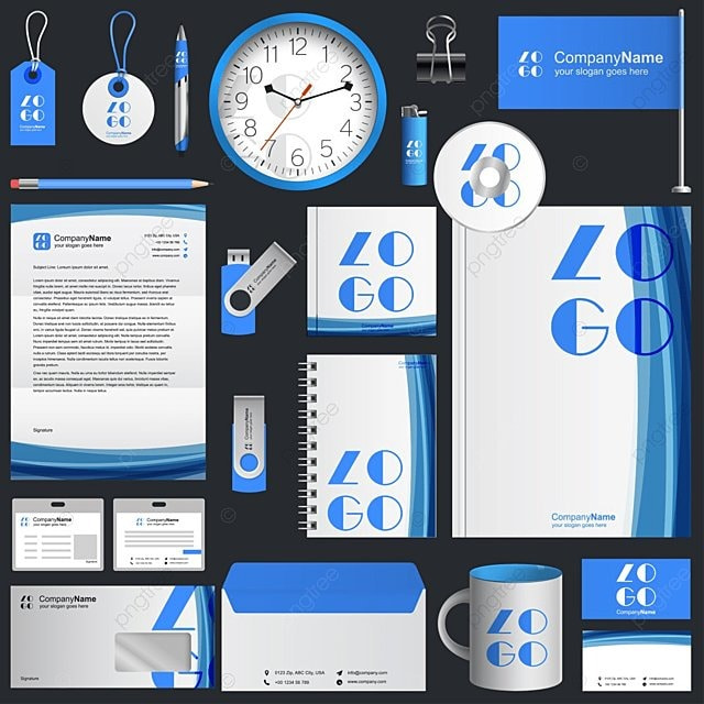 business corporate identity Template Free Download on Pngtree