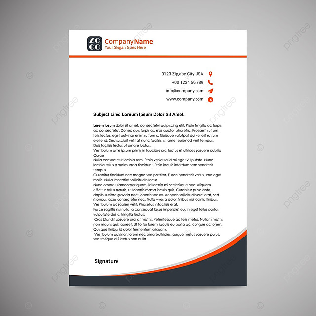 Business letterhead template for free download on pngtree business letterhead template flashek Choice Image