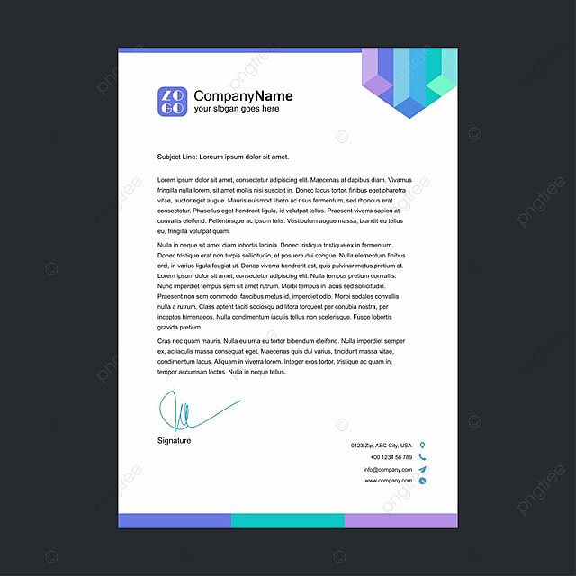 Business letterhead template for free download on pngtree business letterhead template flashek Images
