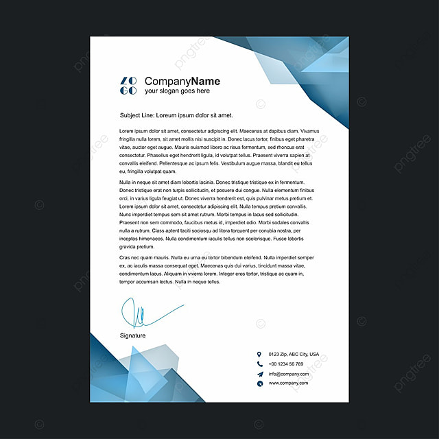 Letterhead Png, Vector, PSD, And Clipart With Transparent