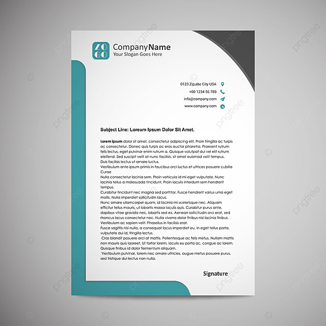 Business letterhead template for free download on pngtree business letterhead template accmission Images