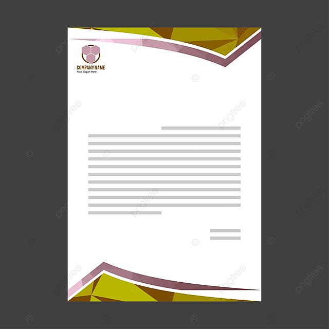 Business Briefkopf Vorlage Zum Kostenlosen Download Auf Pngtree