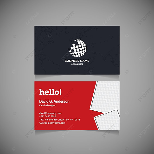 Red business cards vector template for free download on pngtree red business cards vector template reheart Gallery