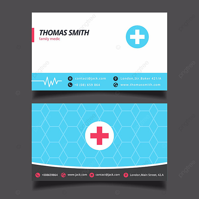 simple medical business card Template for Free Download on Pngtree