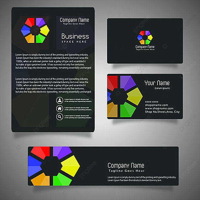 Vector Business Brochure Template Template Free Download On Pngtree - Business brochure templates free download