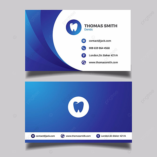 Blue dentist business card template for free download on pngtree blue dentist business card template cheaphphosting Gallery