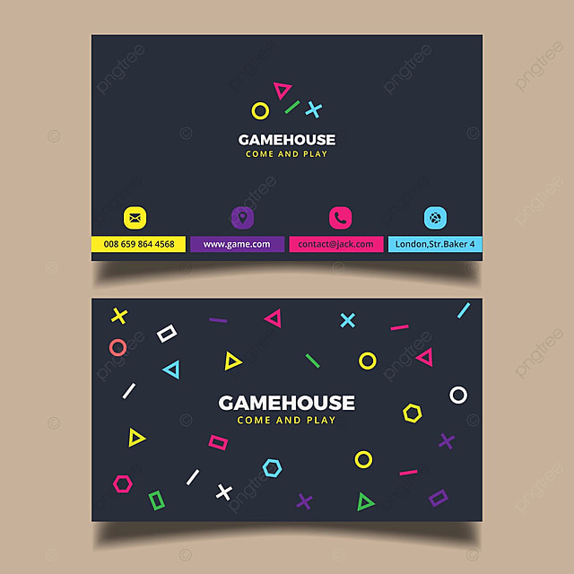 Gaming business card template template for free download on pngtree gaming business card template template accmission Gallery