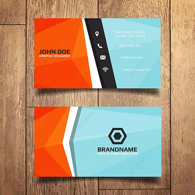 Blue and orange creative card template for free download on pngtree blue and orange creative card template reheart Choice Image