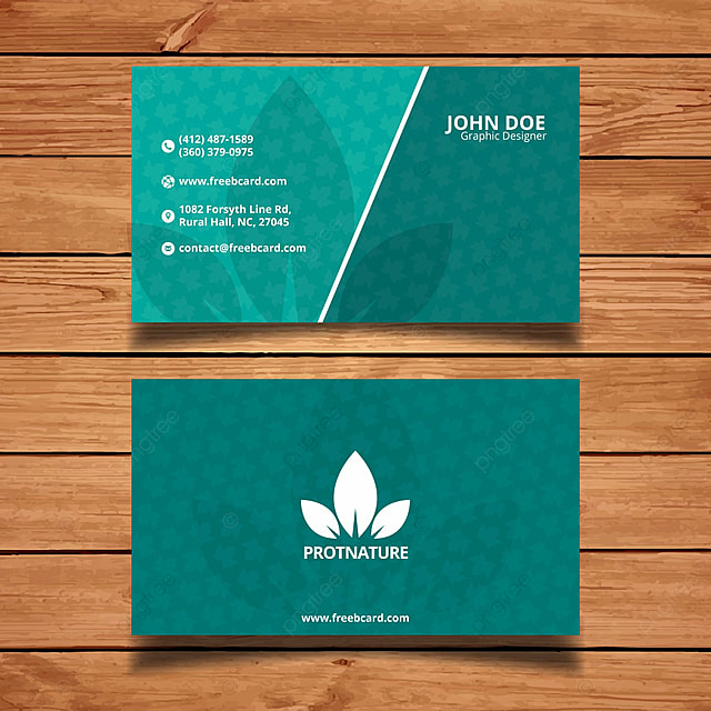 Nature Business Card Template Template Free Download On Pngtree - Sample business card templates