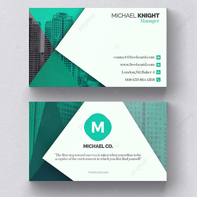 Green corporate business card modelo para download gratuito no pngtree green corporate business card modelo reheart Gallery