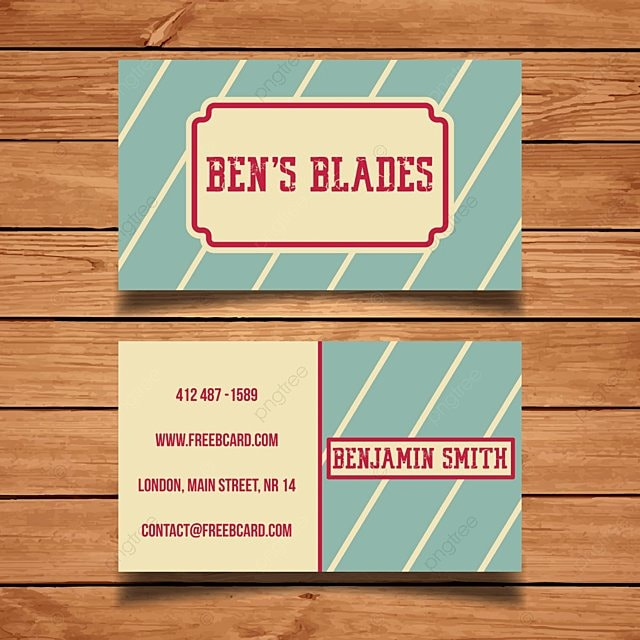 Vintage barber business card template for free download on pngtree vintage barber business card template flashek