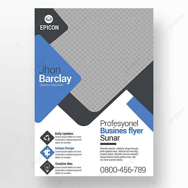 Marketing Flyer Template For Free Download On Pngtree