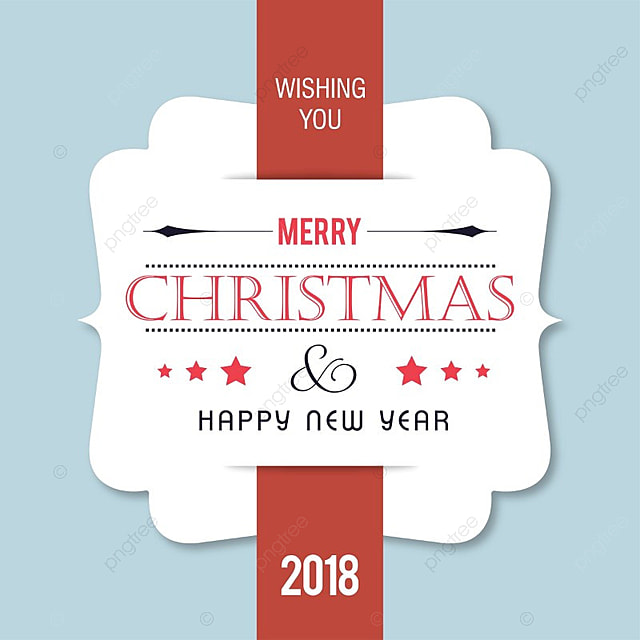 merry christmas and happy new year wishes vector with light background template