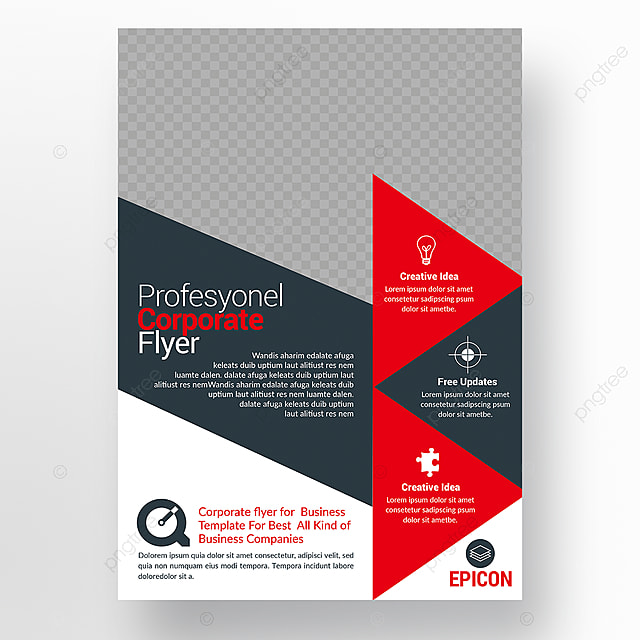 agency flyer template for free download on pngtree