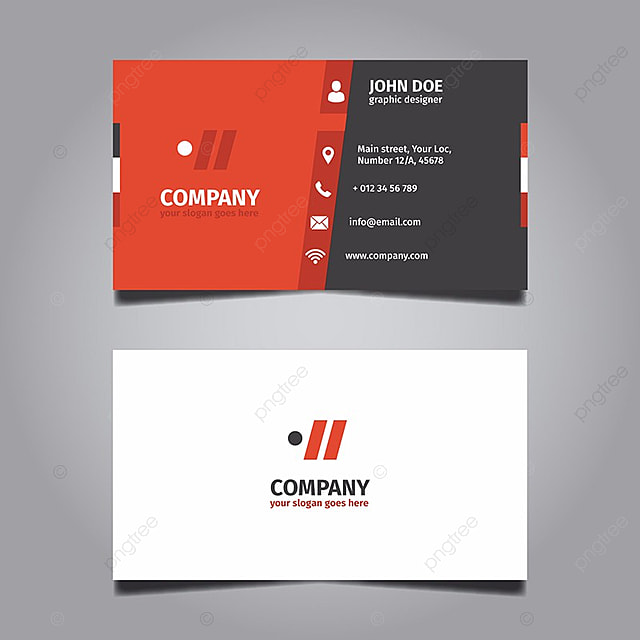 Red useful business card template for free download on pngtree red useful business card template colourmoves